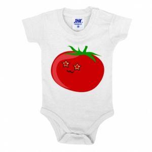 Baby bodysuit Tomato