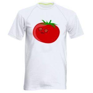 Men's sports t-shirt Tomato