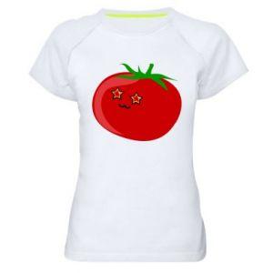 Women's sports t-shirt Tomato