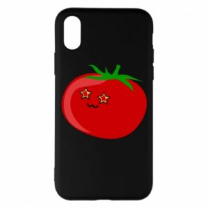 Phone case for iPhone X/Xs Tomato