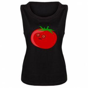 Damska koszulka bez rękawów Tomato