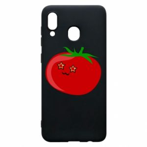 Phone case for Samsung A20 Tomato