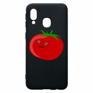 Phone case for Samsung A40 Tomato
