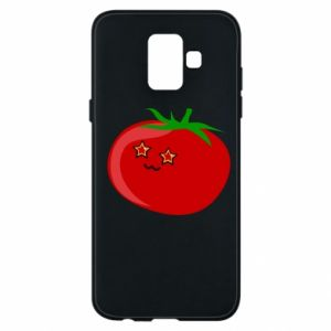 Phone case for Samsung A6 2018 Tomato