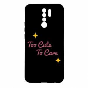 Etui na Xiaomi Redmi 9 Too cute to care