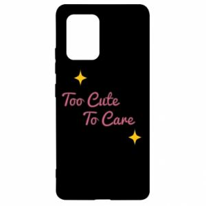 Etui na Samsung S10 Lite Too cute to care