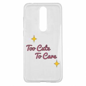 Etui na Nokia 5.1 Plus Too cute to care