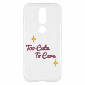 Etui na Nokia 4.2 Too cute to care