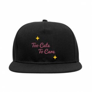 Snapback Too cute to care