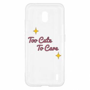 Etui na Nokia 2.2 Too cute to care