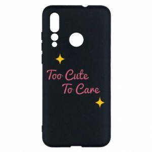 Etui na Huawei Nova 4 Too cute to care