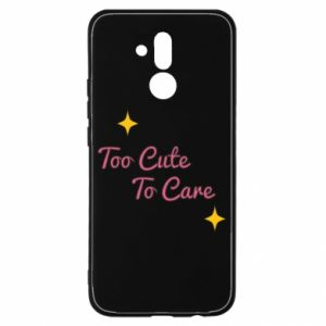 Etui na Huawei Mate 20 Lite Too cute to care