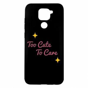 Etui na Xiaomi Redmi Note 9/Redmi 10X Too cute to care