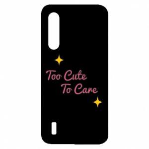 Etui na Xiaomi Mi9 Lite Too cute to care
