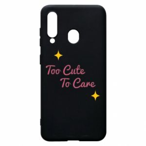 Etui na Samsung A60 Too cute to care