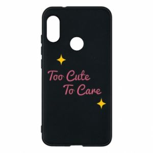 Etui na Mi A2 Lite Too cute to care