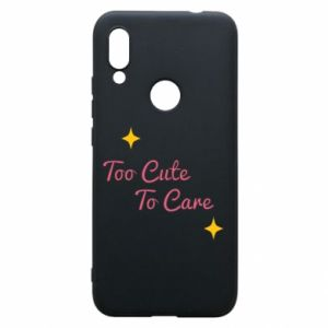 Etui na Xiaomi Redmi 7 Too cute to care
