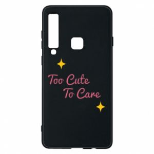 Etui na Samsung A9 2018 Too cute to care