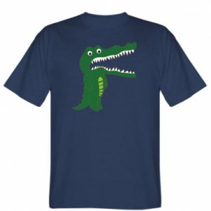 T-shirt Toothy crocodile - PrintSalon