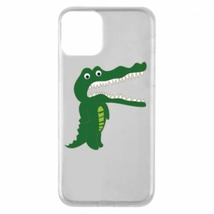 Phone case for iPhone 11 Toothy crocodile - PrintSalon