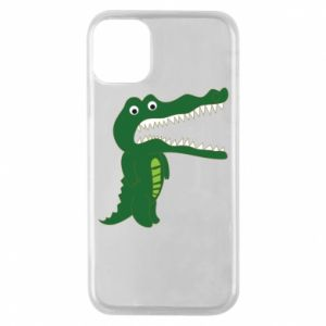 Phone case for iPhone 11 Pro Toothy crocodile - PrintSalon