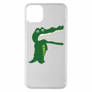 Phone case for iPhone 11 Pro Max Toothy crocodile - PrintSalon