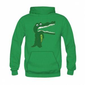 Bluza z kapturem dziecięca Toothy crocodile