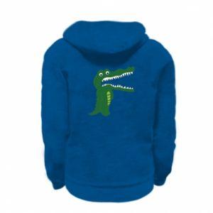 Bluza na zamek dziecięca Toothy crocodile