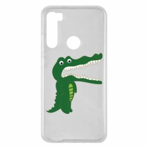 Etui na Xiaomi Redmi Note 8 Toothy crocodile