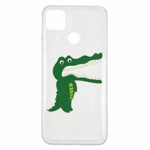 Etui na Xiaomi Redmi 9c Toothy crocodile