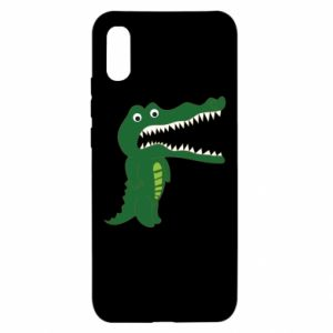 Etui na Xiaomi Redmi 9a Toothy crocodile