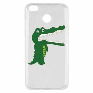 Etui na Xiaomi Redmi 4X Toothy crocodile