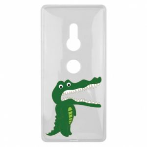 Etui na Sony Xperia XZ2 Toothy crocodile