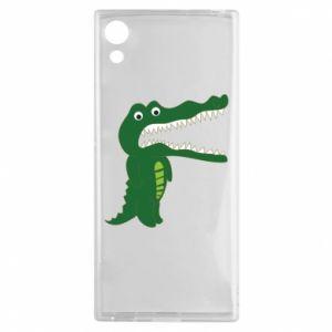 Etui na Sony Xperia XA1 Toothy crocodile