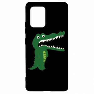 Etui na Samsung S10 Lite Toothy crocodile
