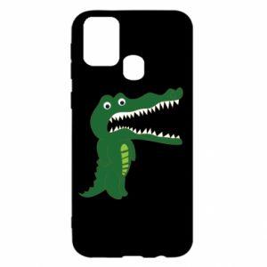Etui na Samsung M31 Toothy crocodile