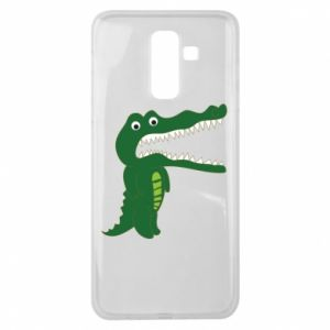 Etui na Samsung J8 2018 Toothy crocodile