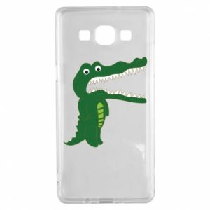 Etui na Samsung A5 2015 Toothy crocodile