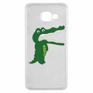 Etui na Samsung A3 2016 Toothy crocodile