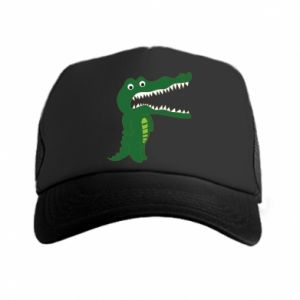 Trucker hat Toothy crocodile - PrintSalon