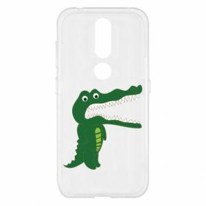 Etui na Nokia 4.2 Toothy crocodile