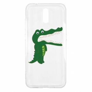 Etui na Nokia 2.3 Toothy crocodile