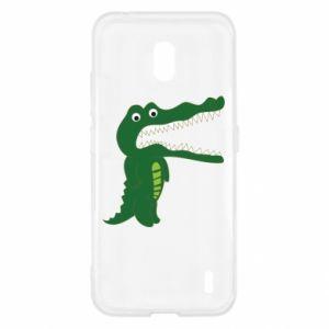 Etui na Nokia 2.2 Toothy crocodile