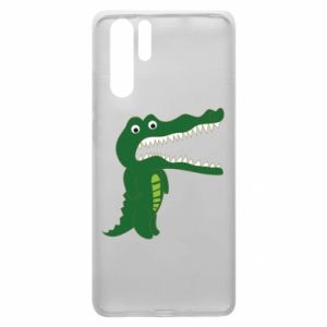 Etui na Huawei P30 Pro Toothy crocodile