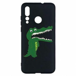 Etui na Huawei Nova 4 Toothy crocodile
