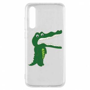 Etui na Huawei P20 Pro Toothy crocodile
