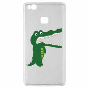Etui na Huawei P9 Lite Toothy crocodile