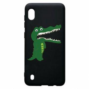 Etui na Samsung A10 Toothy crocodile