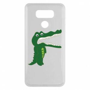 Etui na LG G6 Toothy crocodile