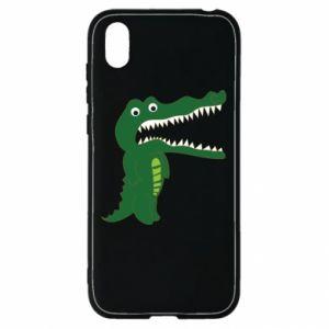 Etui na Huawei Y5 2019 Toothy crocodile